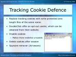 tracking cookie defence