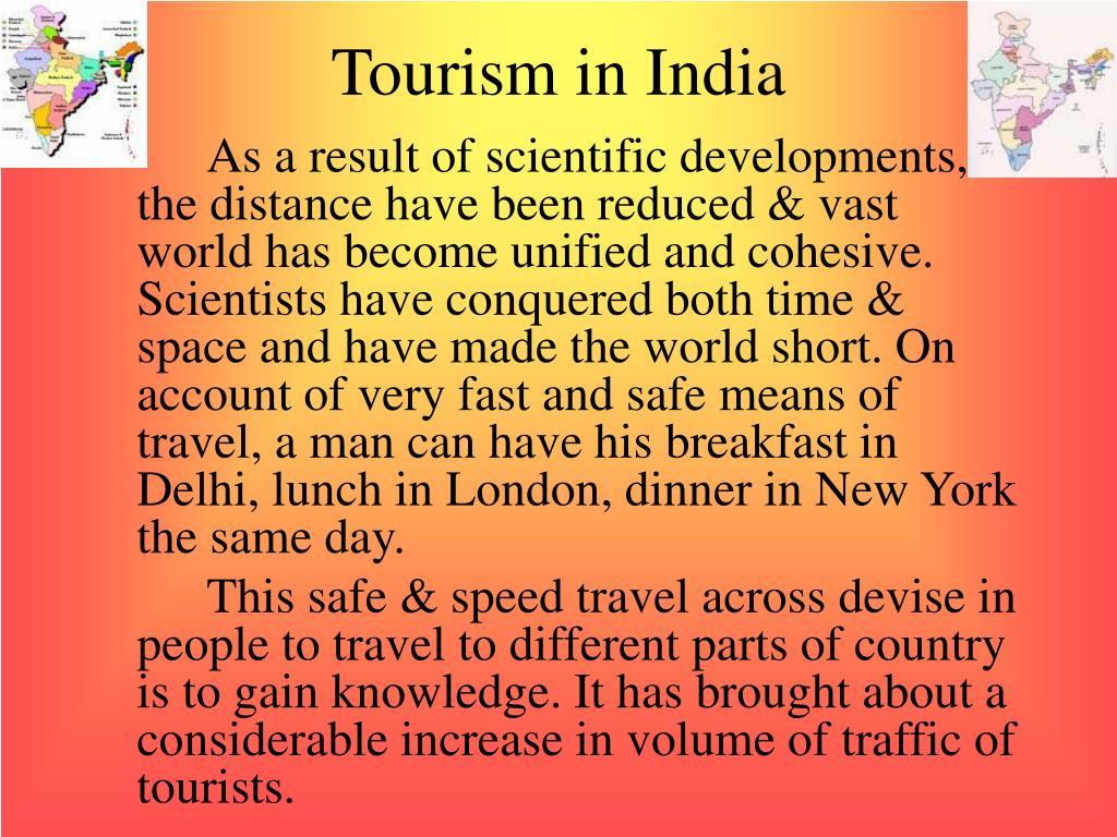tourism in india l.