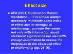 effect size7