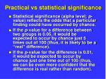 practical vs statistical significance