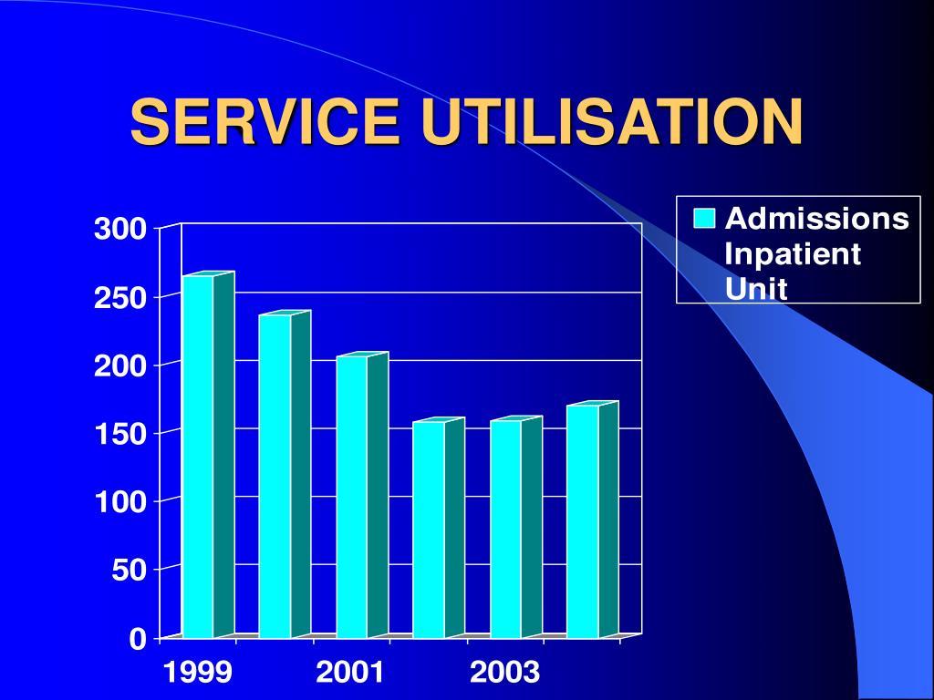 SERVICE UTILISATION