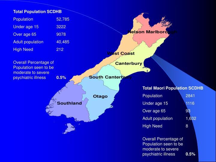 Total Population SCDHB