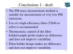 conclusions 1 draft