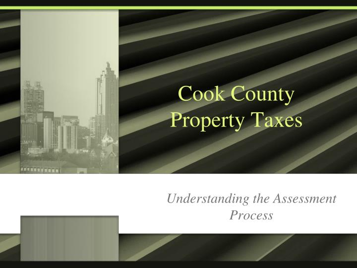 Cook county property taxes