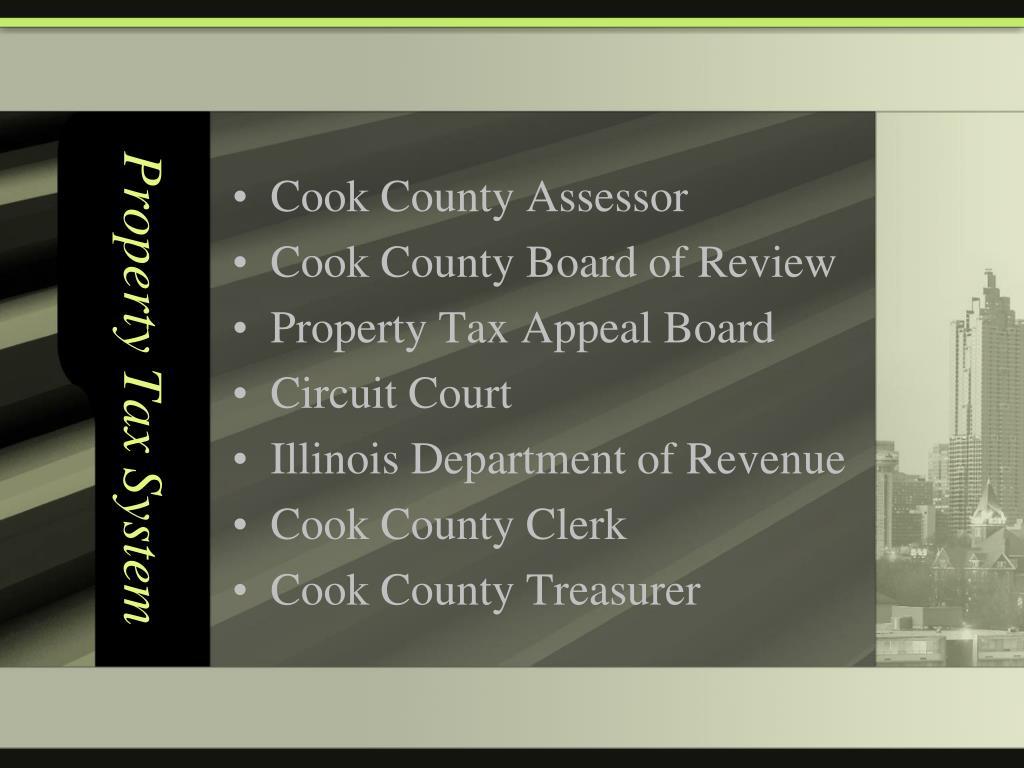 Property Tax System