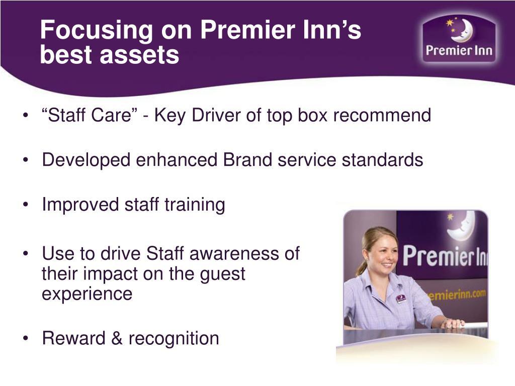 Focusing on Premier Inn's best assets