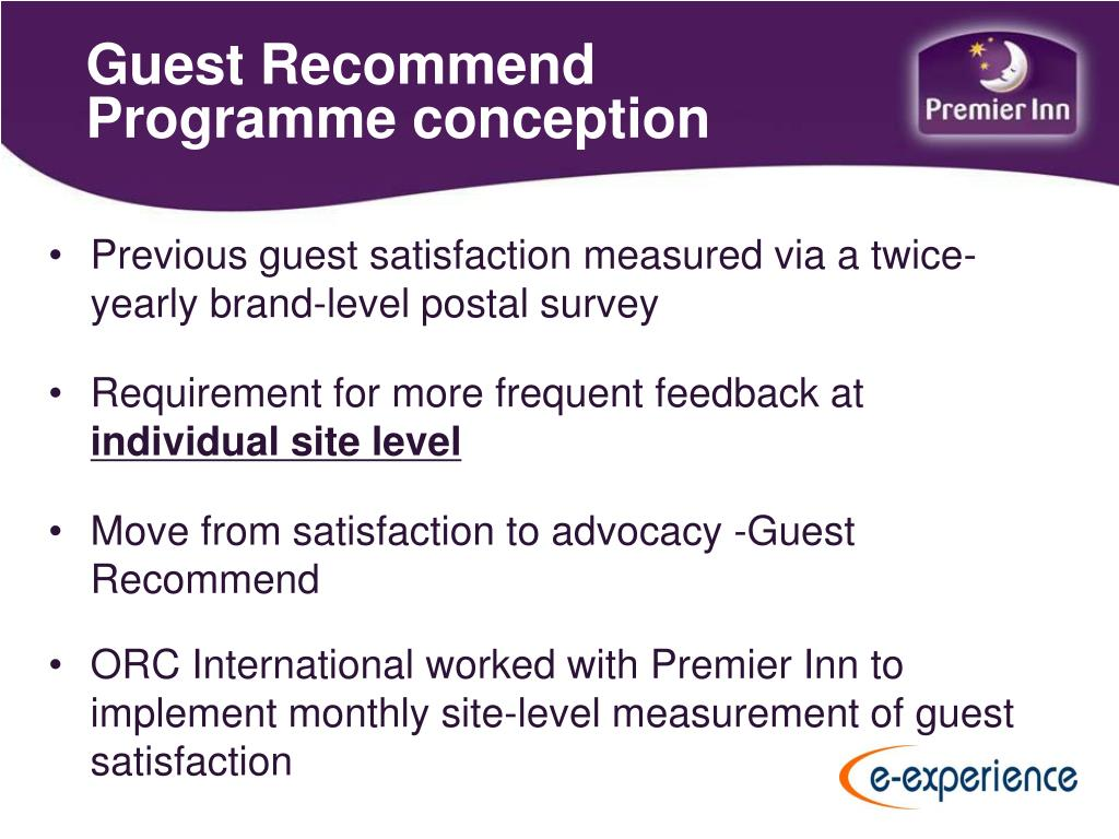 Guest Recommend