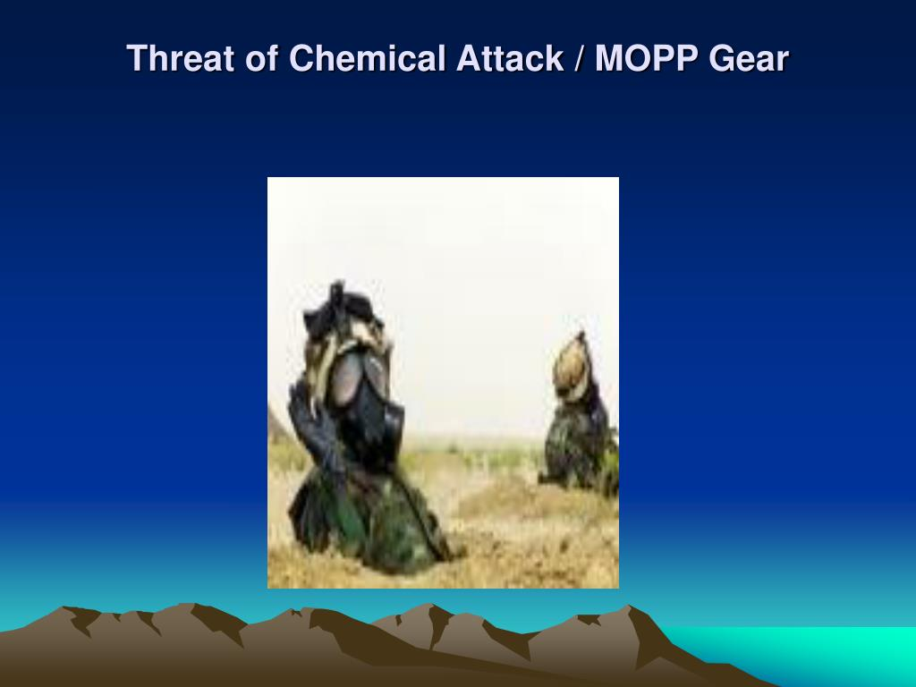 Threat of Chemical Attack / MOPP Gear