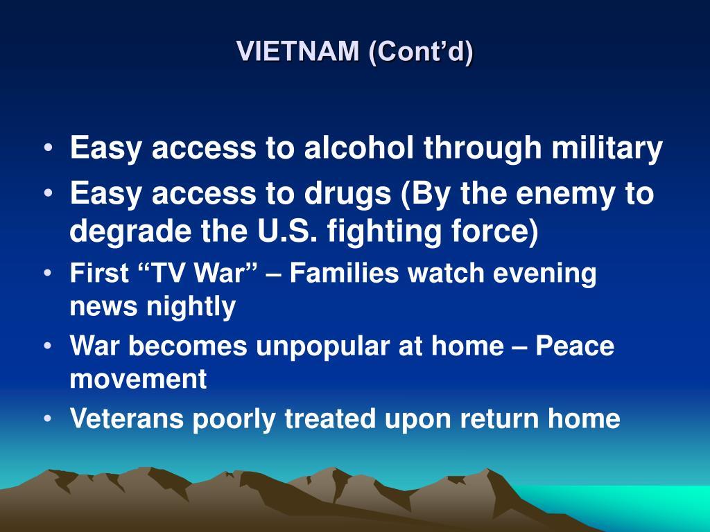 VIETNAM (Cont'd)