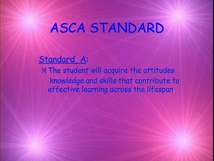 Asca standard