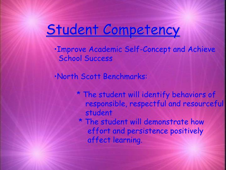 Student competency