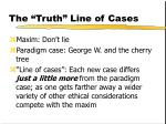 the truth line of cases