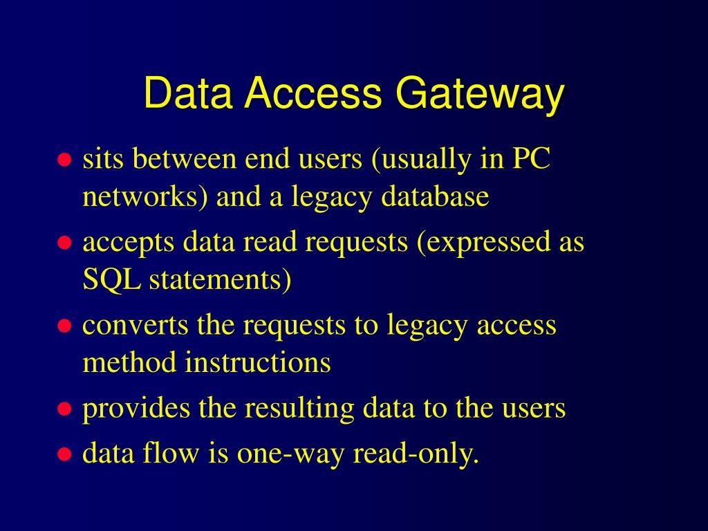Data Access Gateway