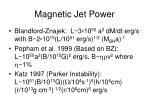magnetic jet power