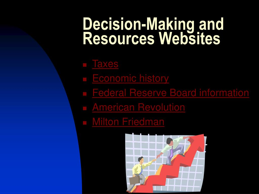Decision-Making and Resources Websites