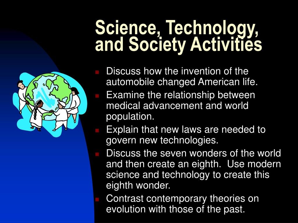Science, Technology, and Society Activities