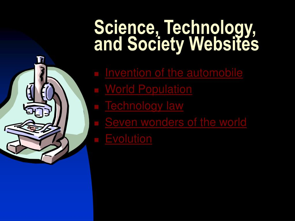 Science, Technology, and Society Websites
