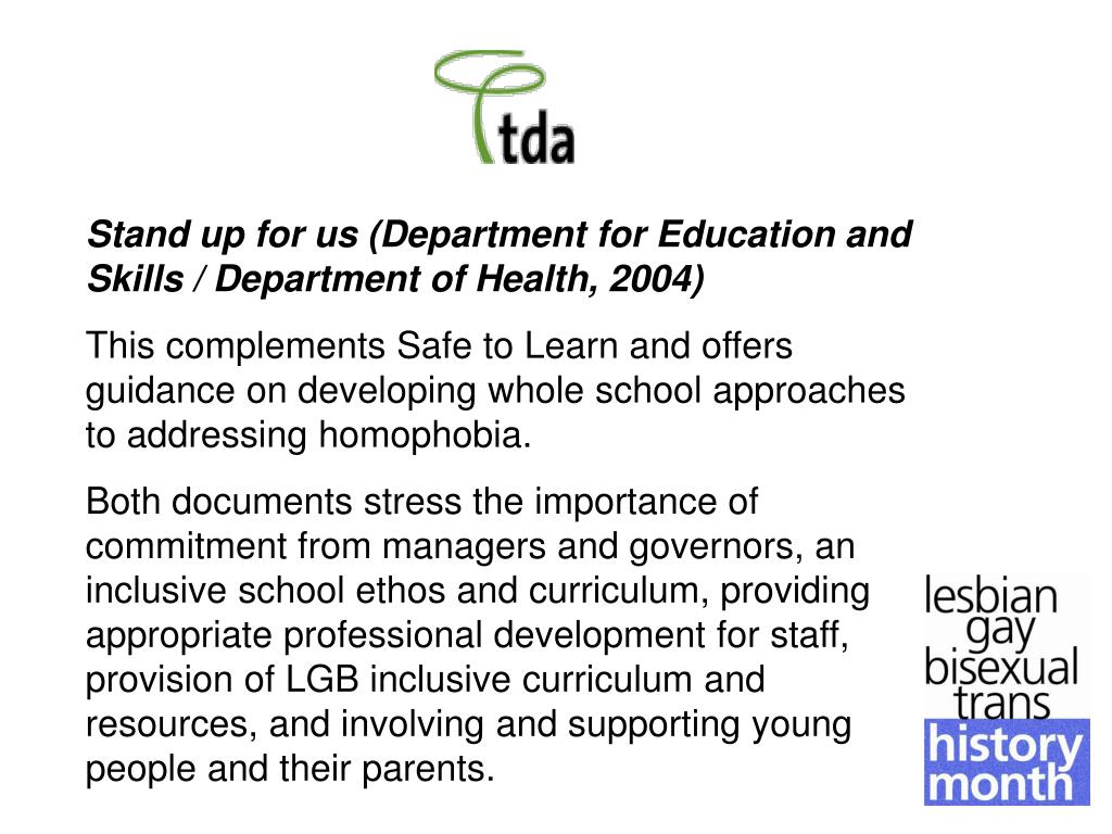 Stand up for us (Department for Education and Skills / Department of Health, 2004)