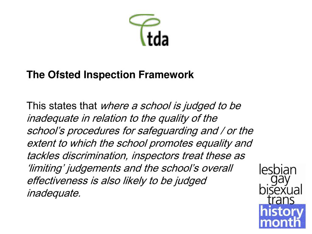 The Ofsted Inspection Framework