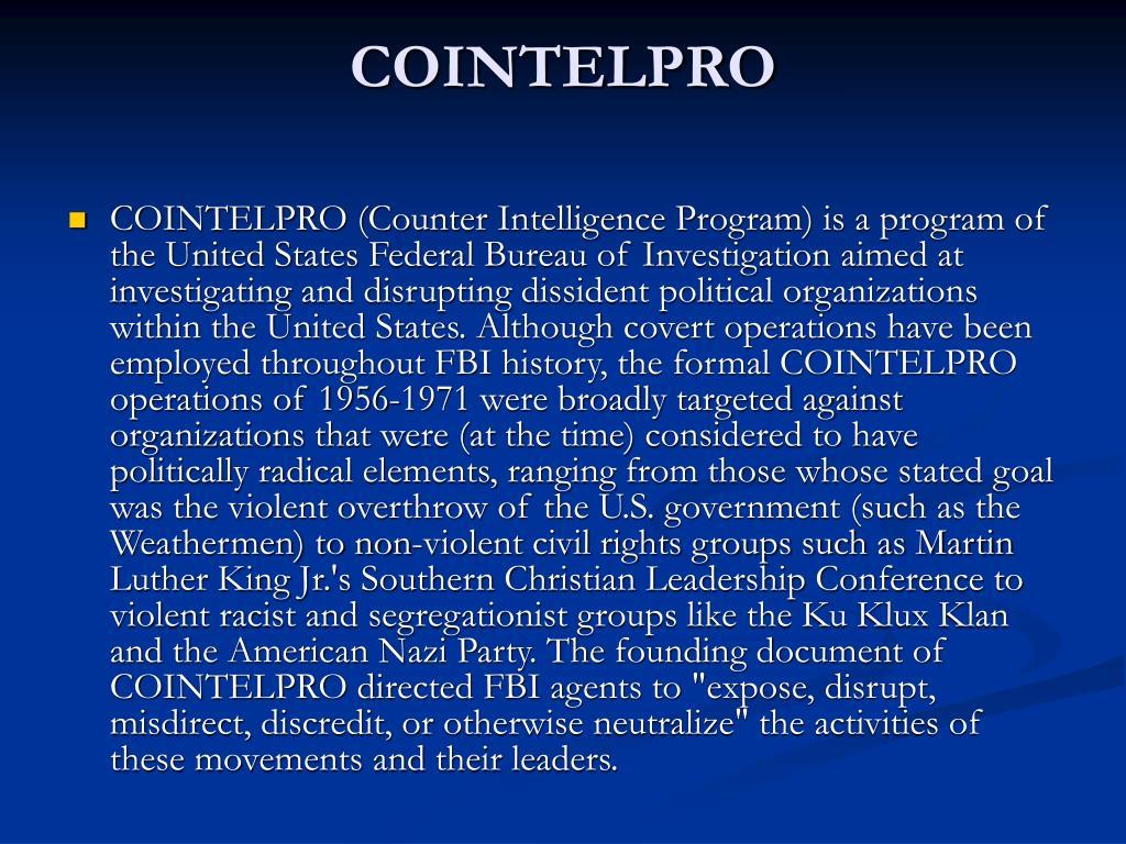 PPT - J  Edgar Hoover 1895-1972 PowerPoint Presentation - ID