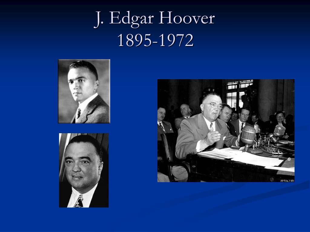 J. Edgar Hoover PDF Free Download