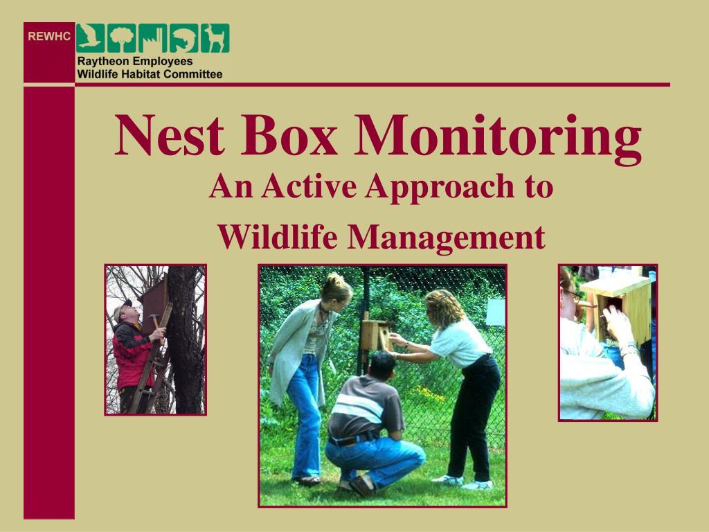 nest box monitoring l.