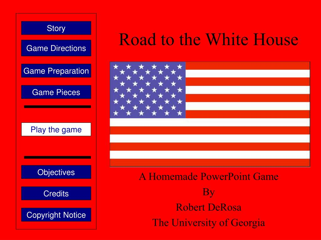 road to the white house l.