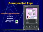 commercial app