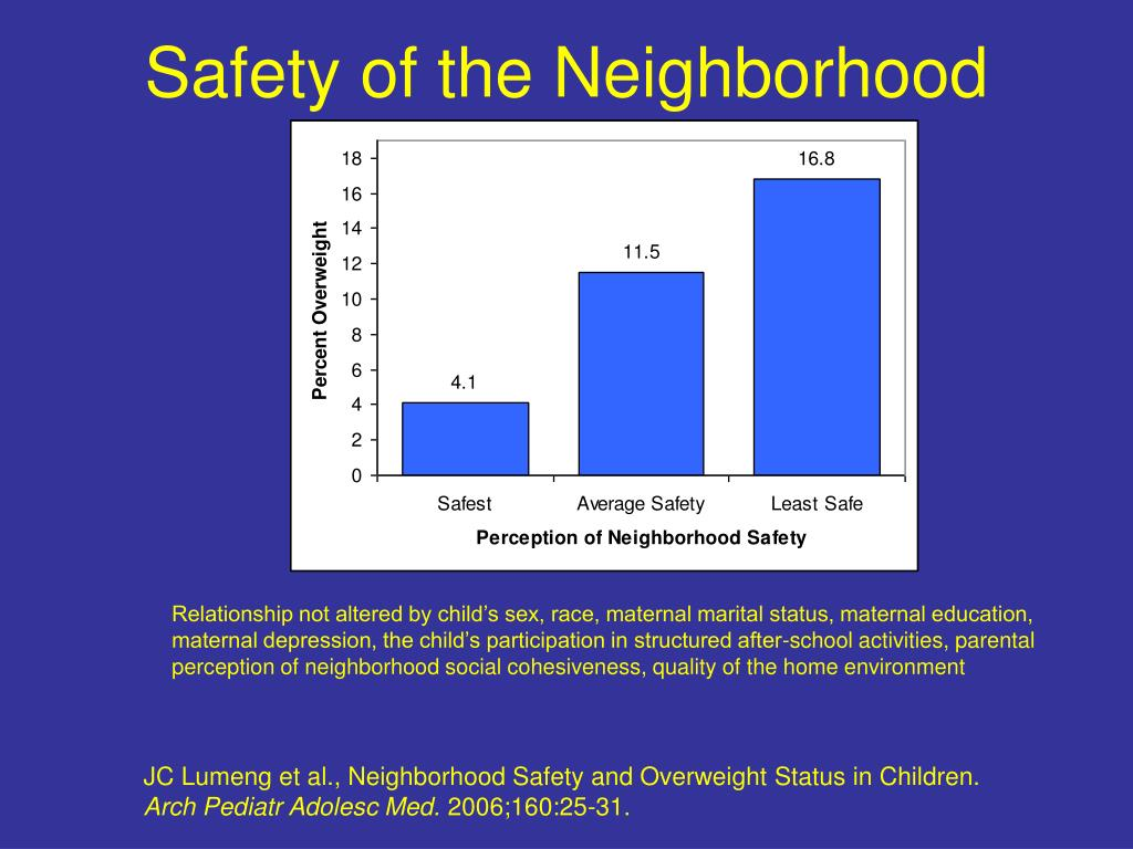 Safety of the Neighborhood