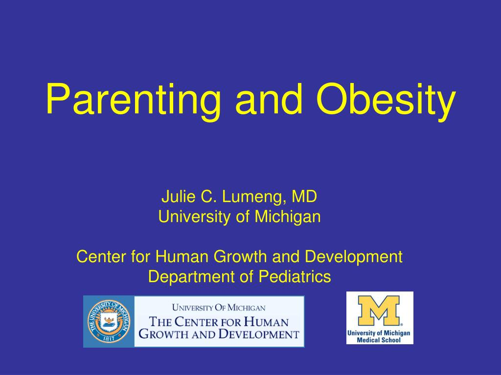 Parenting and Obesity