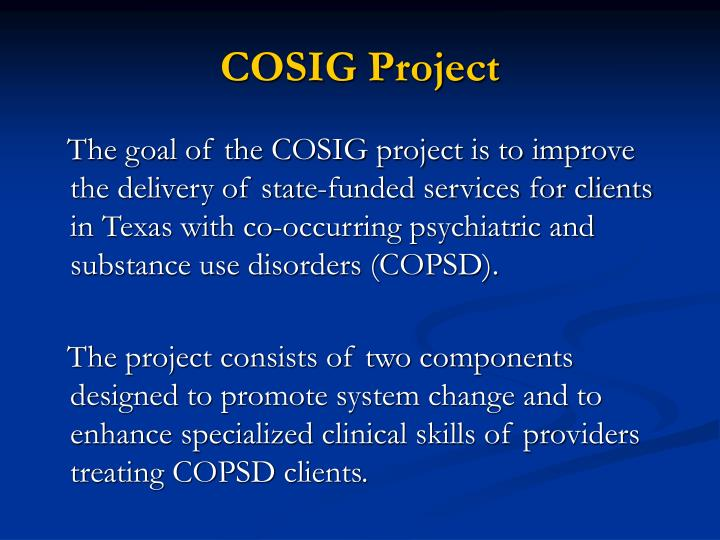 Cosig project