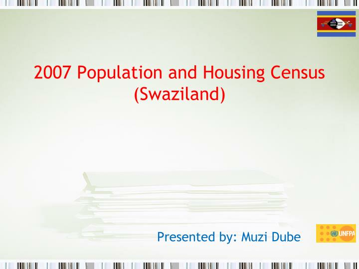 2007 population and housing census swaziland