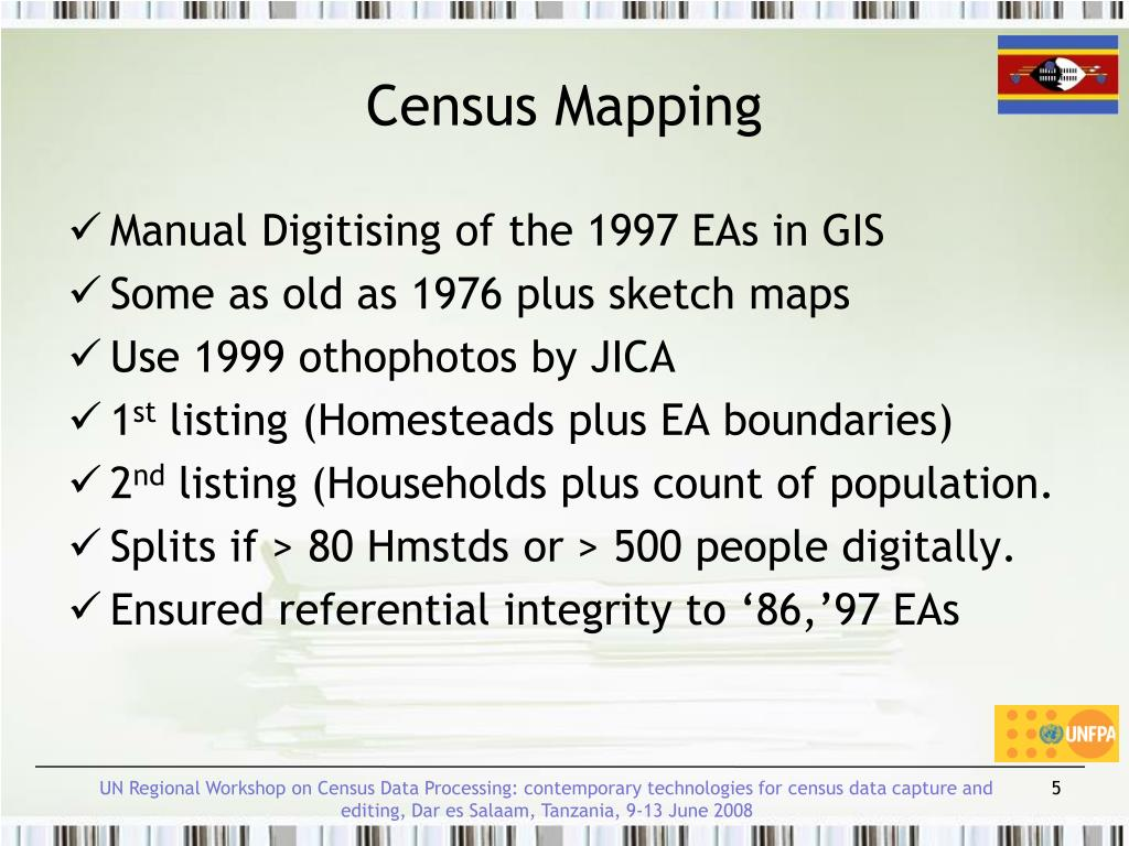 Census Mapping