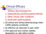 clinical efficacy93