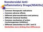 nonsteroidal anti inflammatory drugs nsaids