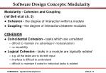 software design concepts modularity11