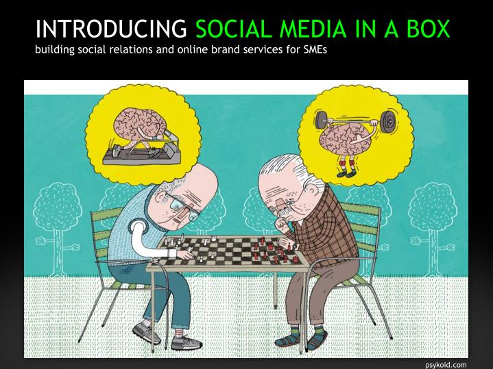 Introducing social media in a box building social relations and online brand services for smes