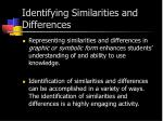 identifying similarities and differences1