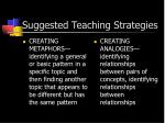 suggested teaching strategies1