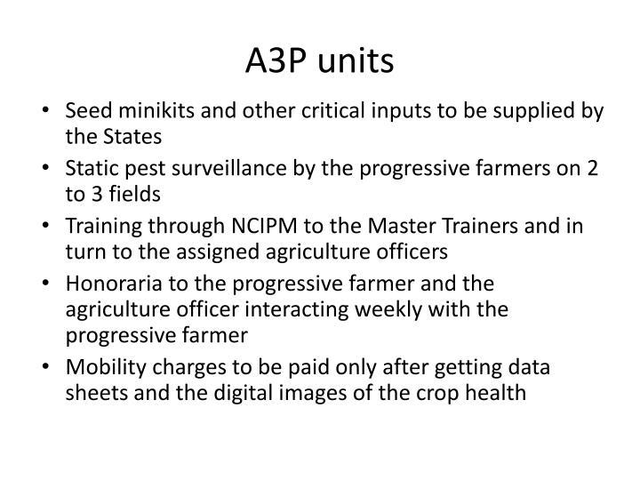 A3P units