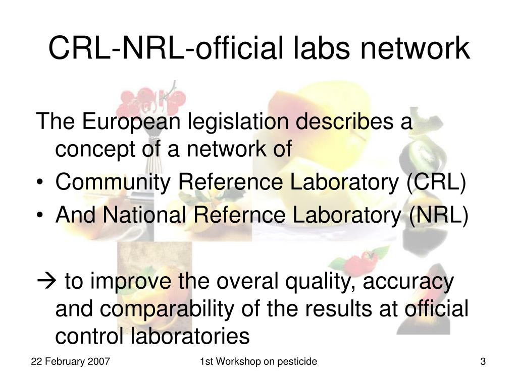 CRL-NRL-official labs network