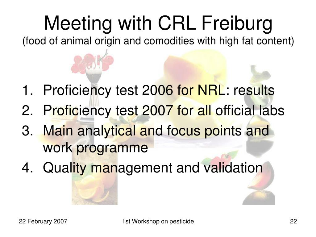 Meeting with CRL Freiburg