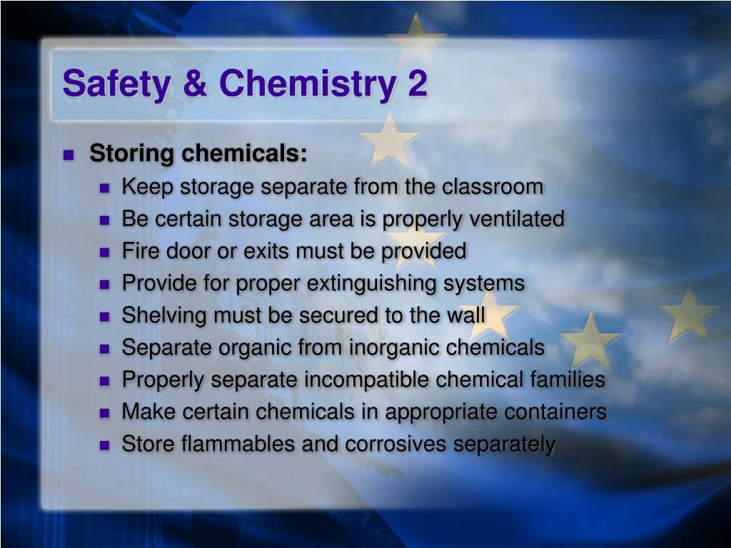 Safety & Chemistry 2