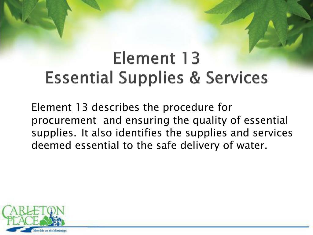 Element 13