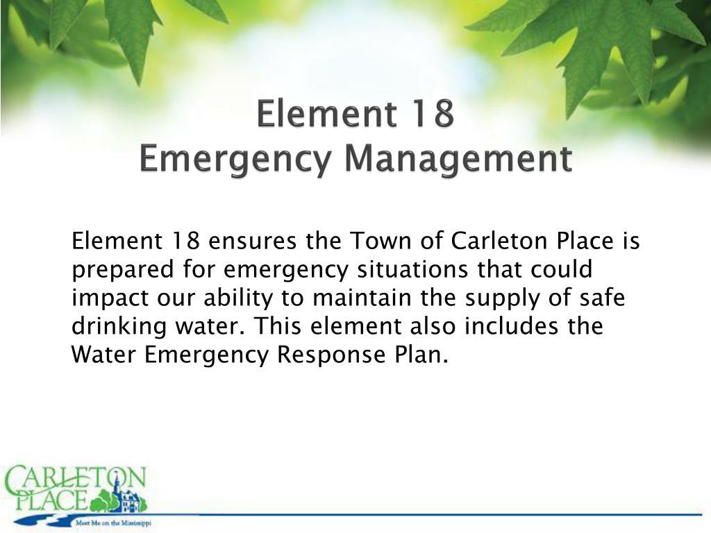 Element 18