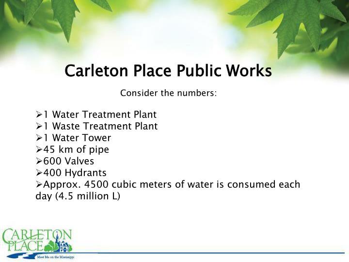 Carleton Place Public Works