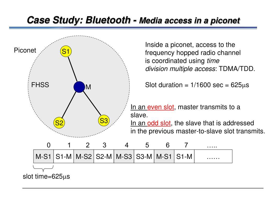 Case Study: Bluetooth -