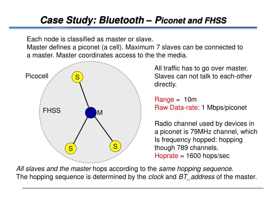 Case Study: Bluetooth – P