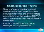 chain breaking truths26