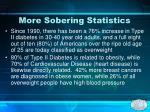 more sobering statistics
